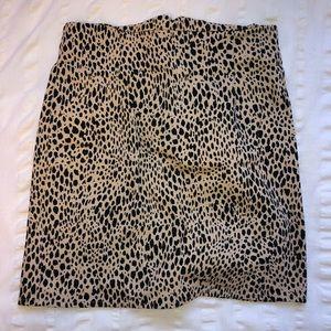 Brandy Melville Leopard Skirt 🐆
